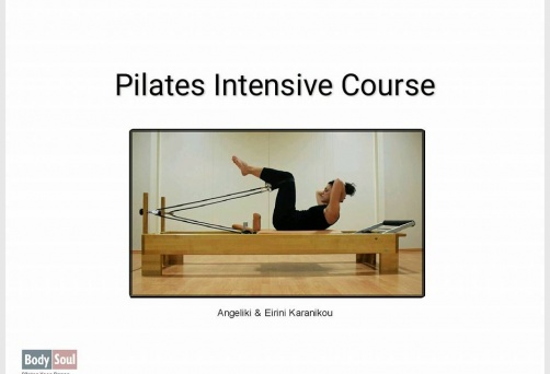 Pilates intensive course